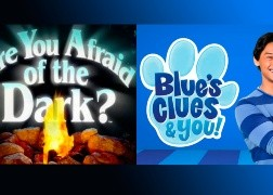 Are you afraid of the dark? y Blue's Clues